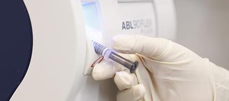 safePICO arterial blood gas syringe - Radiometer